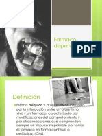 Farmacodependenciaee PPT