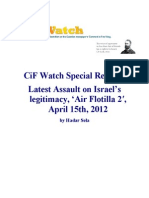 CiF Watch Special Report