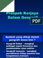 Kerjaya Geografi