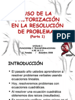 RESOLVER PROBLEMAS PARTE 1 Version Blog