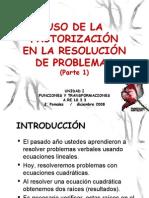 RESOLVER PROBLEMAS PARTE 1 Version Blog