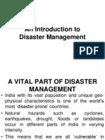 Disaster Ppt (Unit - i)