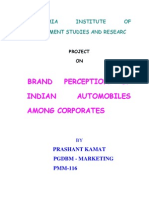 Brand Perception of Indian Automobiles Among Corporates[1]