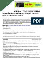 MELHOR CÂMERA PARA INICIANTES - Brfoto - Fórum de fotografia