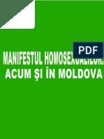 Manifestul Homosexualilor Pentru MD