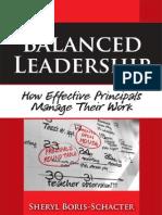 Balanced Leadership- How Effective Principals Manage Their Work