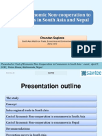 Cost of Economic Non-Cooperation to Consumers in South Asia and Nepal_2012!04!02