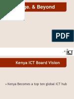 Knowledge. & Beyond - Kenya ICT Board-Paul Kukubo