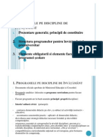 3.Programele pe discipline de +-½nv-+ó++¦-+óm++¦nt [Compatibility Mode]