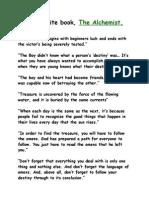 the alchemist essay pessimism alchemist quotes brief