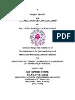 Performance Analysis in Aditya Birla Group (1)