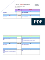 June IGCSE Timetable 2012