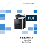 Bizhub C35 Ug Printer Copy Scanner en 3 1 0