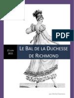 Le Bal de la Duchesse de Richmond