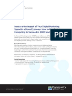Telligent White Paper | Digital Marketing in a Recession