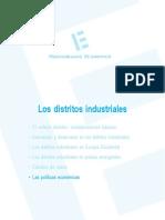 Política tecnológica aplicada a los distritos industriales (Es)/ Technology policy applied to industrial districts (Spanish)/ Teknologia politika industri barrutietan ezarrita (Es)