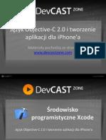 Język Objective-C 2.0 i tworzenie aplikacji dla iPhone'a