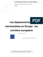 Deplacement Marchandises en Europe