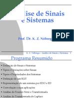 Análise de Sinais e Sistemas