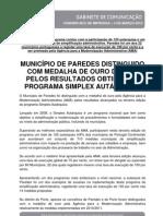 Press 3mar Medalha Ouro Simplex Autarquico