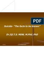 Suicide- The Facts to Be Known