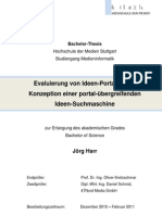 Ideen-Portale und Ideen-Suchmaschine