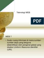 1. Teknologi Web