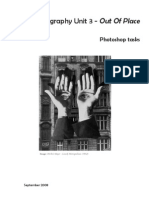 Out of Place Photoshop Worksheet