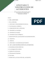 Atestados Y Reconstruccion de Accidentes