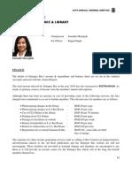 17 Secretariat Finance Librarys Report