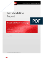 ESG Lab Validation Brocade VCS Fabric Technology