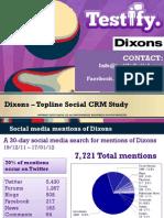 Dixons Mini Audit