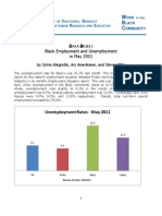 Black Employment and Unemployment May2011