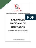 i Asamblea Nacional de Delegados