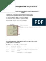 Configuracion Del Pic 12f629