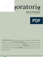 Lavboratorio, nº 07, 2001