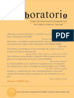 Lavboratorio, nº 21, 2007