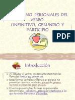 Formas No personales del verbo (5º)