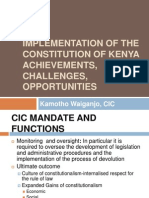 ICT and Constitution Implementation Msa