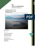 PRELIMINARY ENVIRONMENTAL ASSESSMENT Burning Man 2012-2016 Special Recreation Permit