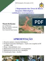 6 Metodologias de to Das Reas de Riscos de Desastres Hidrolgicos Modo de Compatibilidade