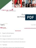Etude Cityvox 2012 - Les Français et les sorties