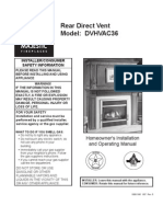 Majestic GBV Comfort Pro DVHVAC36