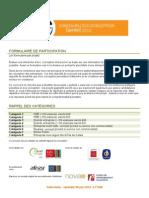 Concours Eco-Conception 2012