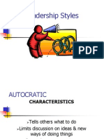 Leadership Styles Parts 1 and 2