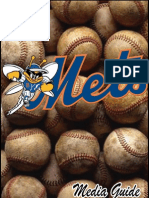 2012 Binghamton Mets Media Guide