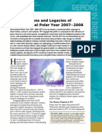 Lessons and Legacies of the International Polar Year 2007-2008