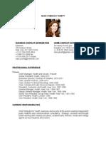Nancy Mensch Turett CV_updated March 2012