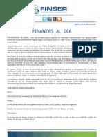 Finanzas al Día 03.04.12