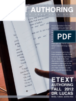 EText Authoring